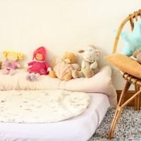 Le lit façon Montessori adopté