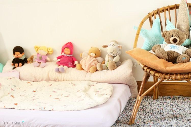 Un lit Montessori
