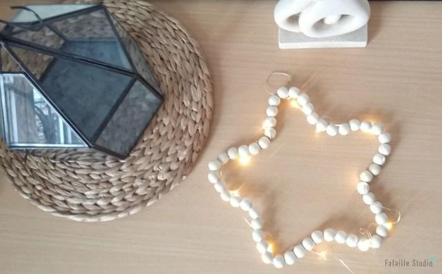 DIY étoiles en perles