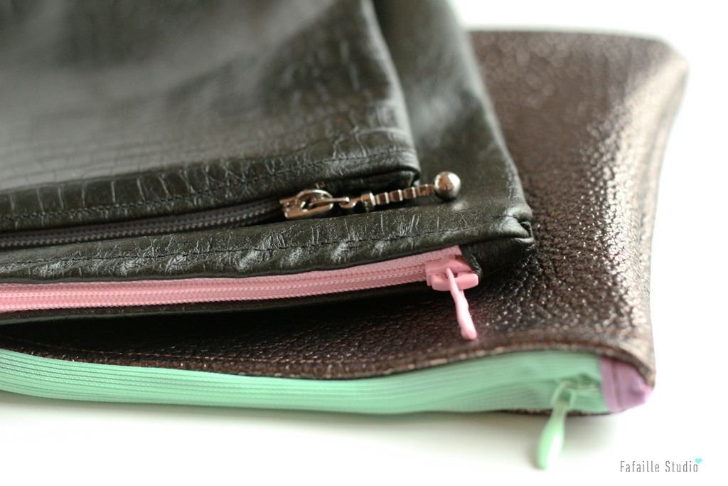 Des pochettes leather friendly