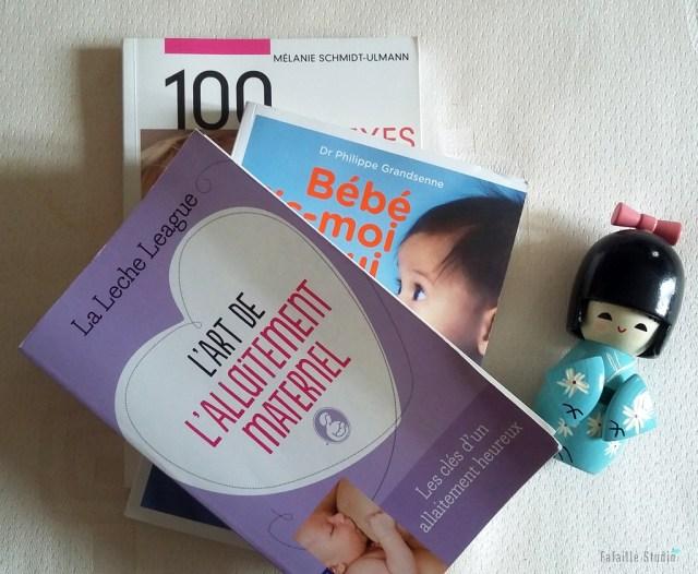 Sélection livres allaitement