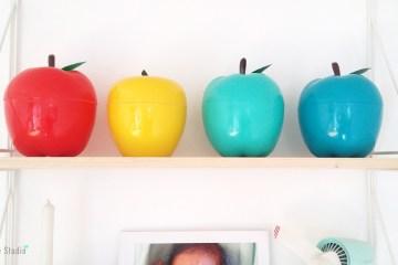 Pomme à glaçons vintage mint