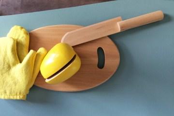 Cuisinière Montessori en bois