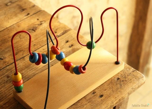 jeu en bois Montessori