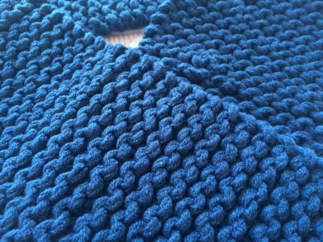 tuto tricot écharpe bébé