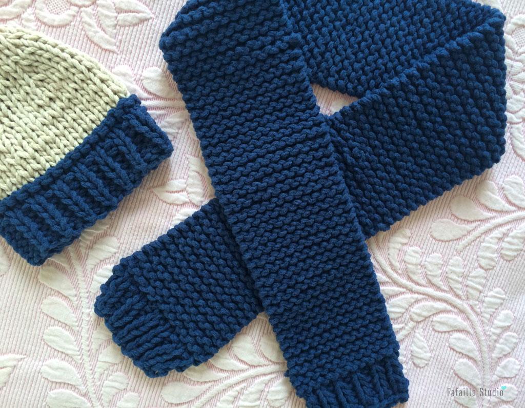 Tricot - Sa première écharpe (Tuto)
