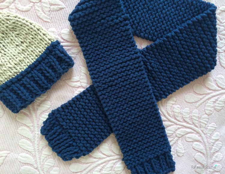 tricoter une echarpe bebe facile