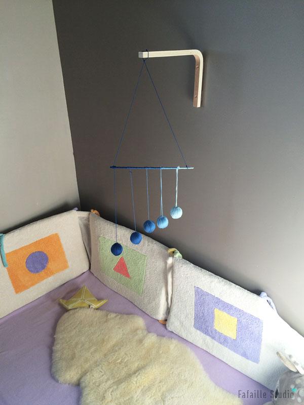 Mobile de Gobi Montessori