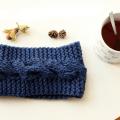 Tricoter headband à torsades