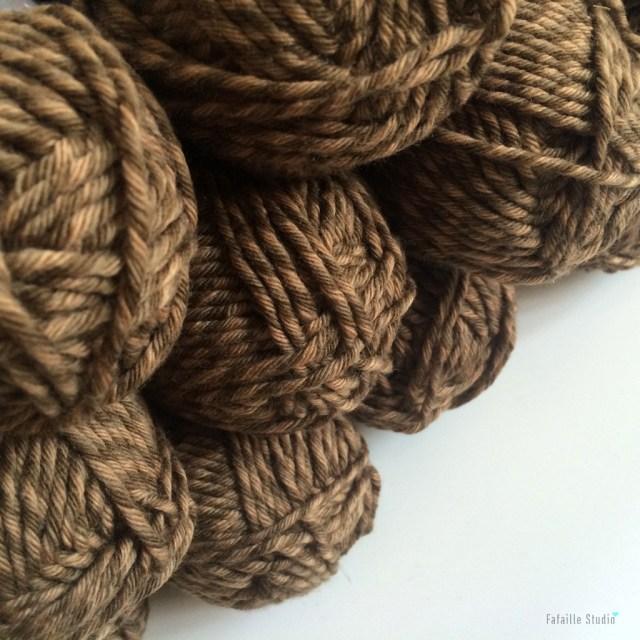 pelotes de laine mérinos vintage