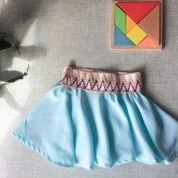 Couture - Tuto sa jupe patineuse
