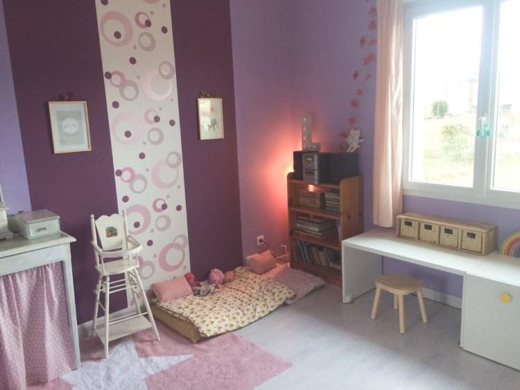 Chambre fille vintage