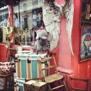 Alice's, an antique shop along Portobello Road