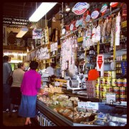 A traditional Italian deli that I passed by along Columbus Avenue