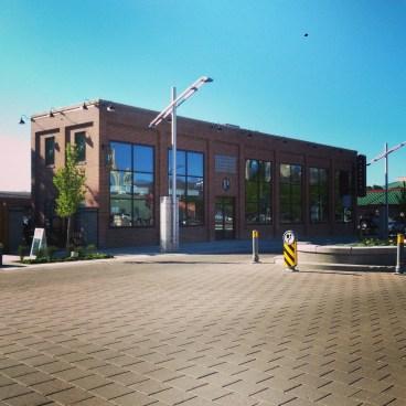 The Parlour building.