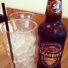 Crabbie's Spiced Orange Ginger Beer!