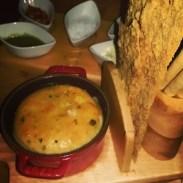 The bread platter at Giada.