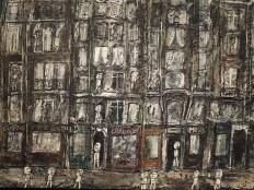 Apartment Houses, Paris by Jean Dubuffet