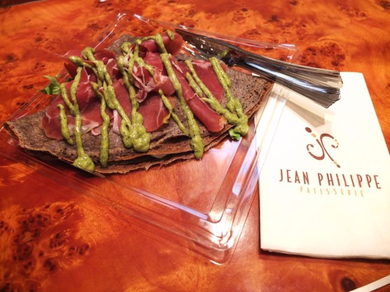 The savoury Italian crepe from Jean Philippe Patisserie