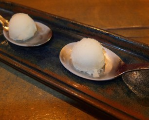 Palate Cleanser: Pear Sorbet