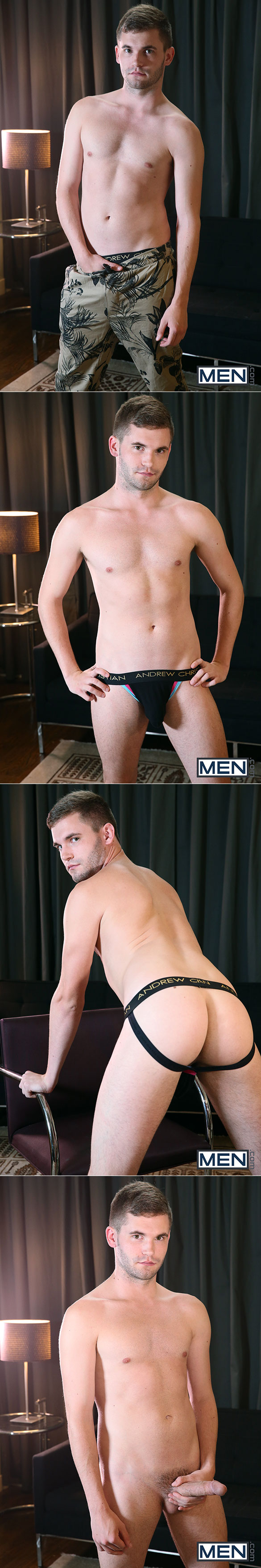 "Men.com: Kaden Alexander fucks Jack Radley in ""Stepbrothers, Part 3"""