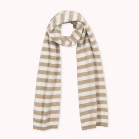 Fagiolino Cashmere Stripes Hay Beige
