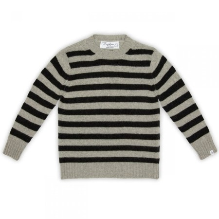 Fagiolino Cashmere Cittino Sweater Stripes