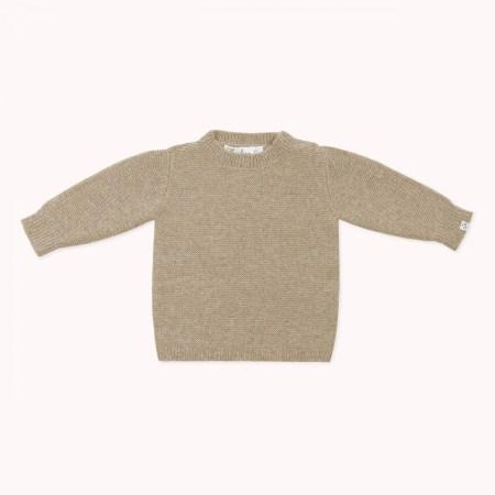 Fagiolino Cashmere Cittino Sweater Hay Beige