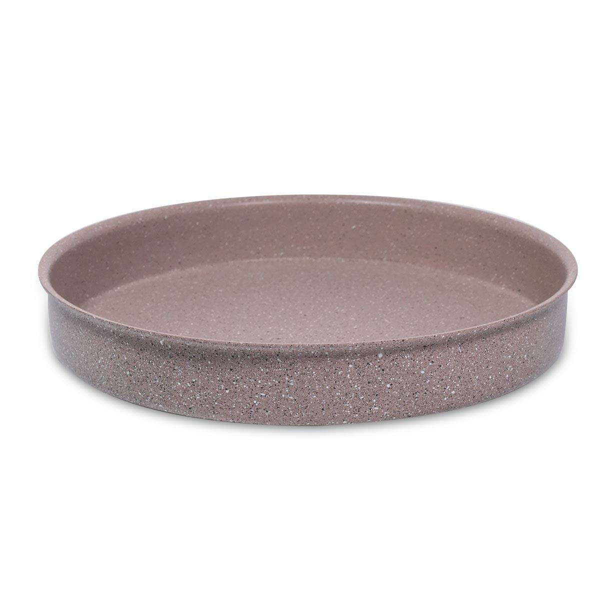 Plitka granitna posuda / tepsija - 3412 BROWN