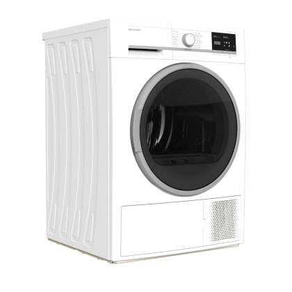 Sharp mašina za sušenje veša sa toplotnom pumpom 8 kg - KD-GHB8S7GW2