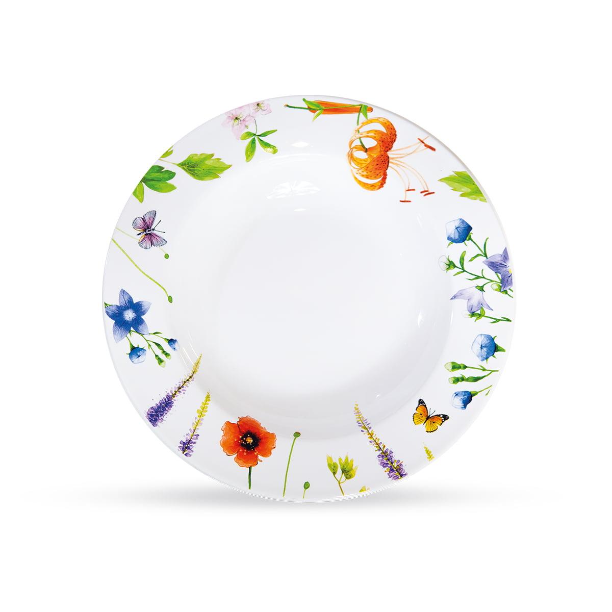 Butterfly porcelanski set za ručavanje 2 - Duboki tanjir