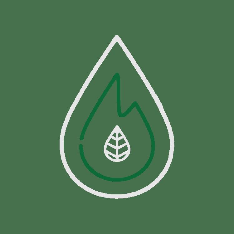 De vlam in het logo van Fagus Outdoor staat voor bushcraft en onze passie voor vuur en natuurbeleving