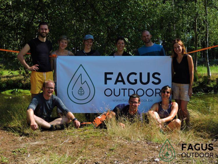 Groep nam deel aan Bushcraft & Packraft weekend, al onze passie voor natuurbeleving