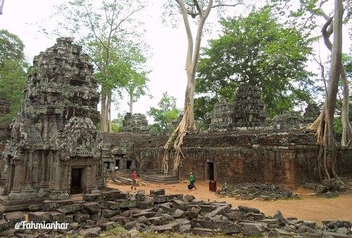 Ta Phrom Temple Siem Reap Cambodia