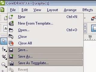 corel draw x4, x5, x6, x7, x8 tidak bisa disave