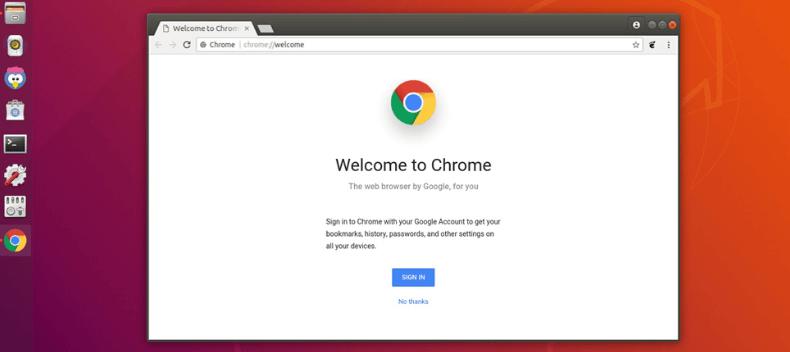 cara install google chrome ubuntu
