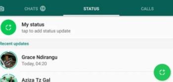 cara upload status whatsapp agar tidak blur