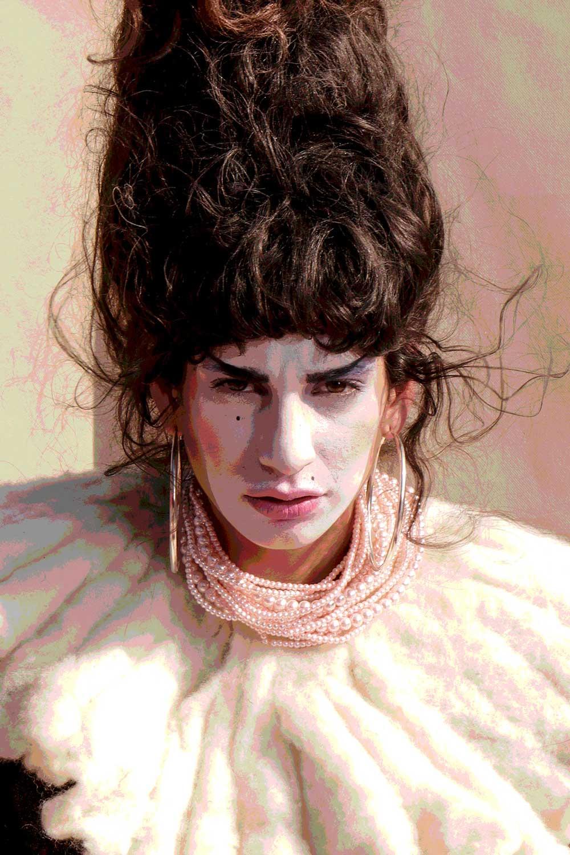 Maquillaje como pintar un cuadro al óleo por Liz Jardón