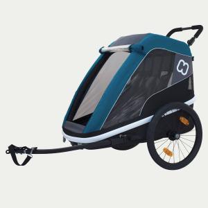 HAMAX Avenida 2-Sitzer Kinder-Fahrradanhänger 2019