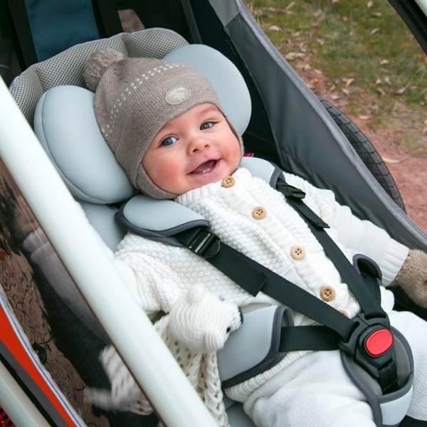 HAMAX - Babyeinlage Babysitz für Outback/Outback One Fahrradanhänger ab 2016 1