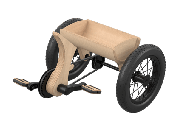 LEG&GO Tricycle – Kinderdreirad Umbauset 1