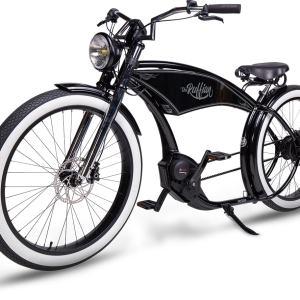 RUFF CYCLES The Ruffian Schwarz / Weißwand 2021   Custombike