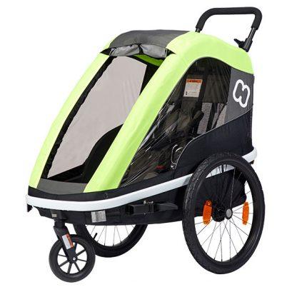 HAMAX Avenida One 1 Sitzer Kinderfahrradanhänger 2020   Lime.jpg