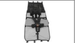 Qeridoo Rückenlehne mit 5-Punkt Sicherheitsgurt Kidgoo2 2017