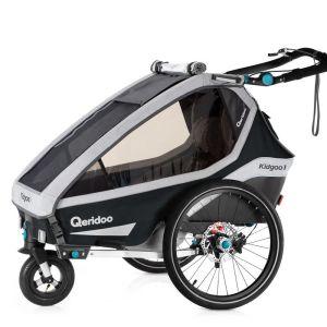 Qeridoo Kidgoo2 Pro 2020 Kinder Fahrradanhänger