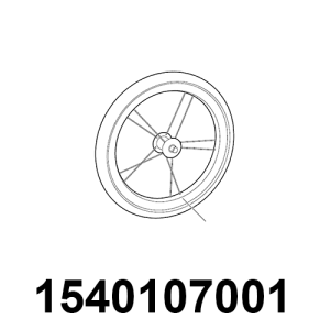 "THULE Chariot   Rad 16"""