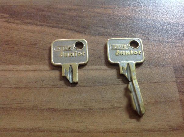 Schlüssel mit und ohne Bart