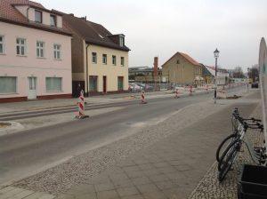 Blick Richtung Ruhlsdorfer Platz