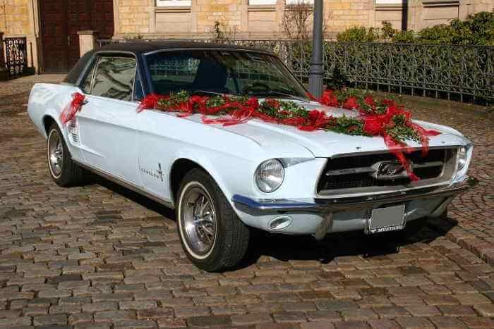 Ford Mustang Oldtimer und Hochzeitsauto mieten Osnabrück