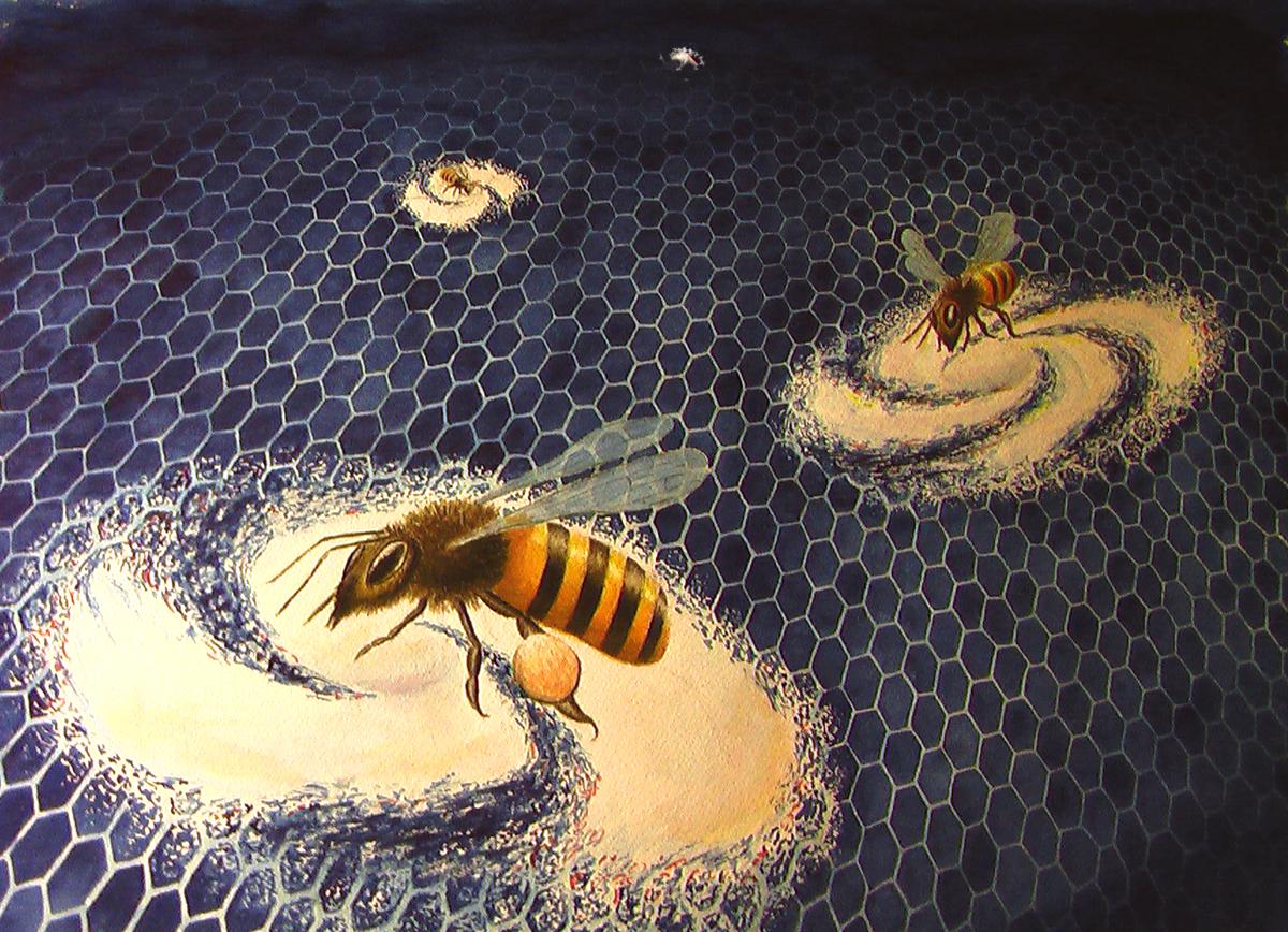 Cosmic Bees Courtesy of Brooke Steytler